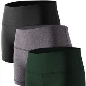 0365 High Waist Stretch Athletic Workout Shorts